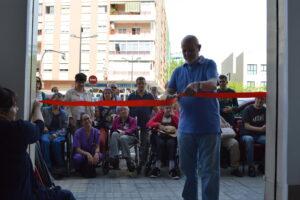 Inauguración del centro de la calle Masquefa