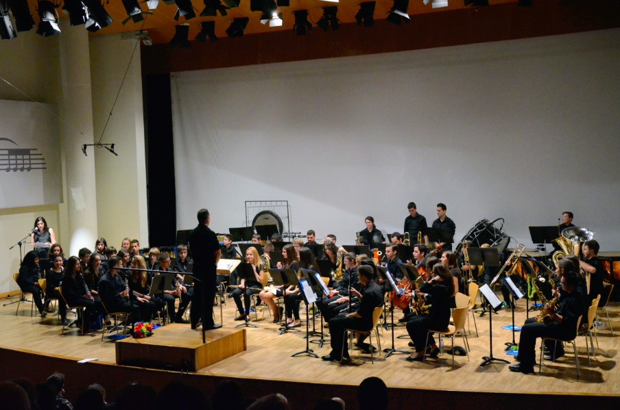 Banda Juvenil de la Sociedad Instructiva del Obrero Agrícola y Musical de Benimàmet.
