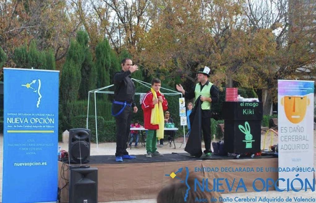 Actuación de Mago Vaza, Mago Kiki y Mago Petardino