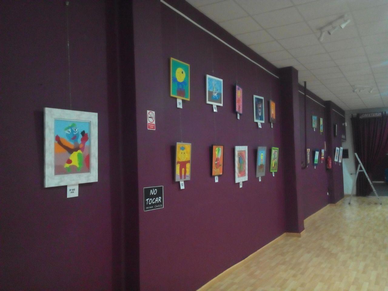 """Exposición """"Interpretando a Ripollés""""."""