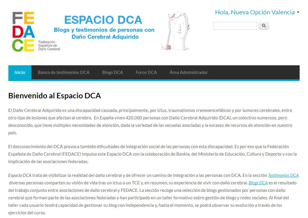 Nueva Opcion Espacio DCA